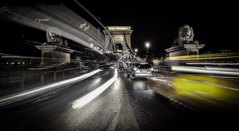 Fotokonst Too much traffic