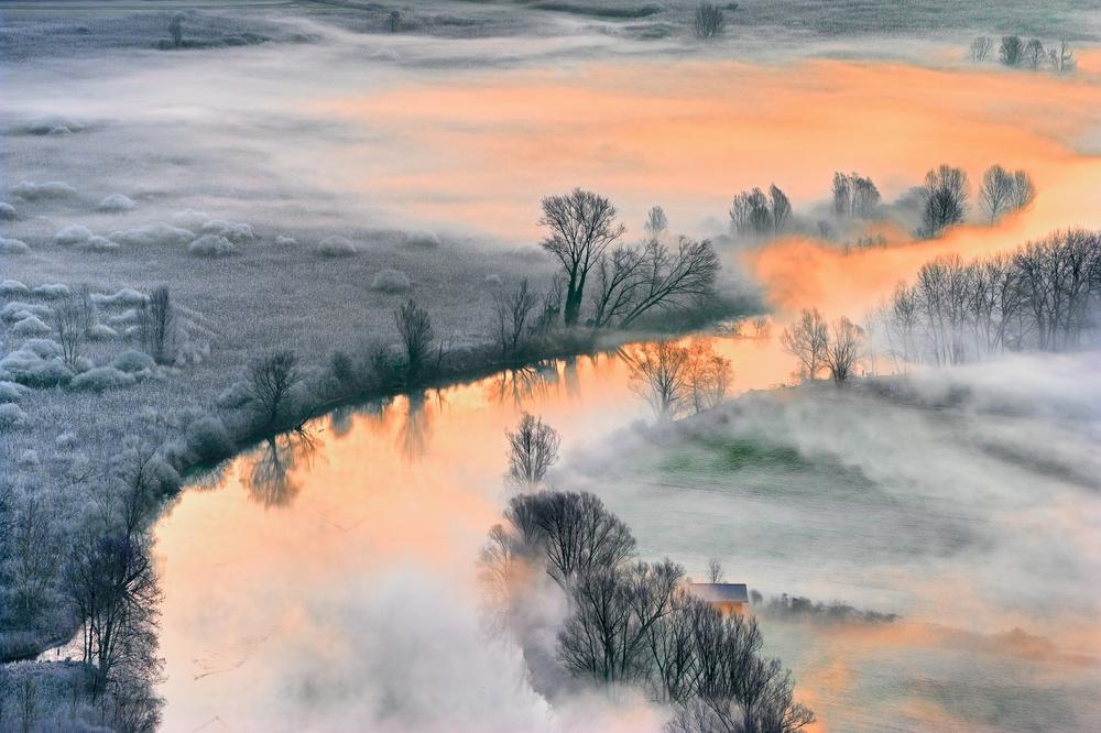 Fotokonst Sunrise