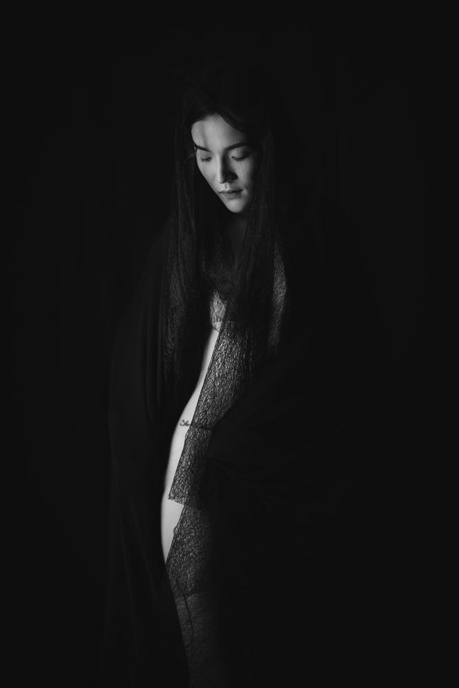 Fotokonst Black Lace