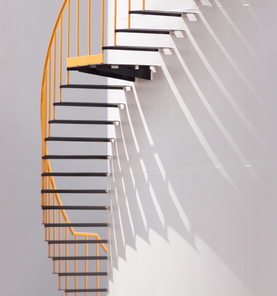 Poster Yellow Staircase