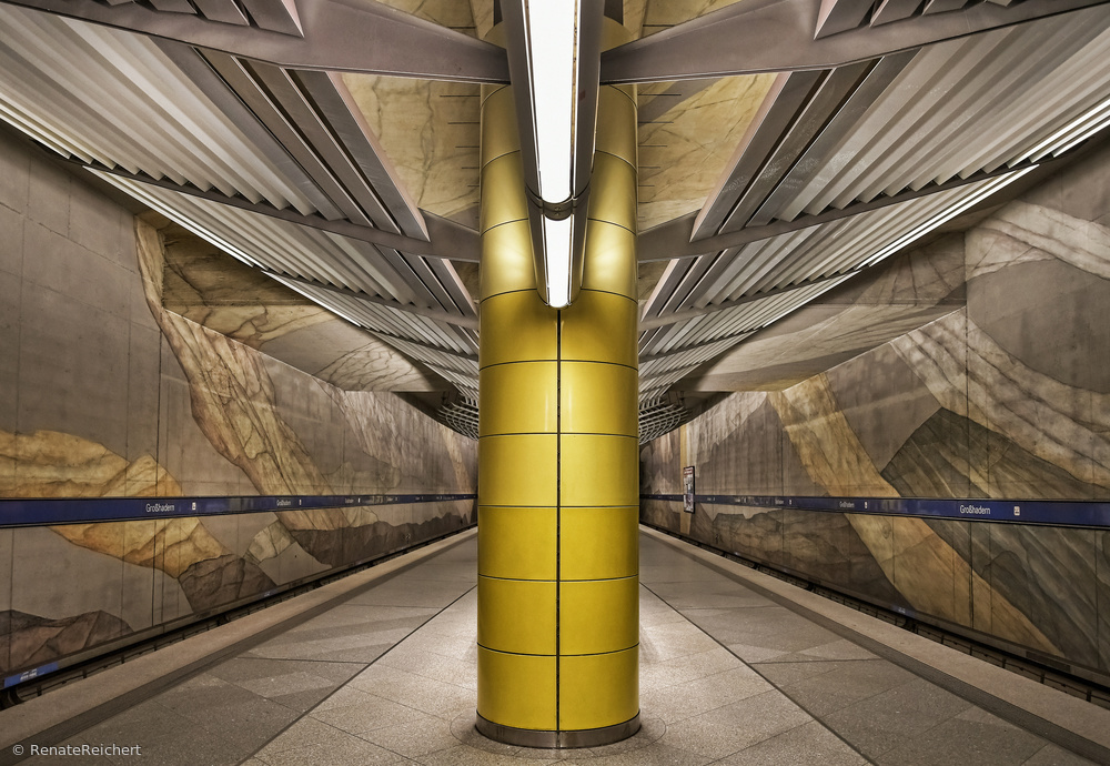 Fotokonst subway Munich