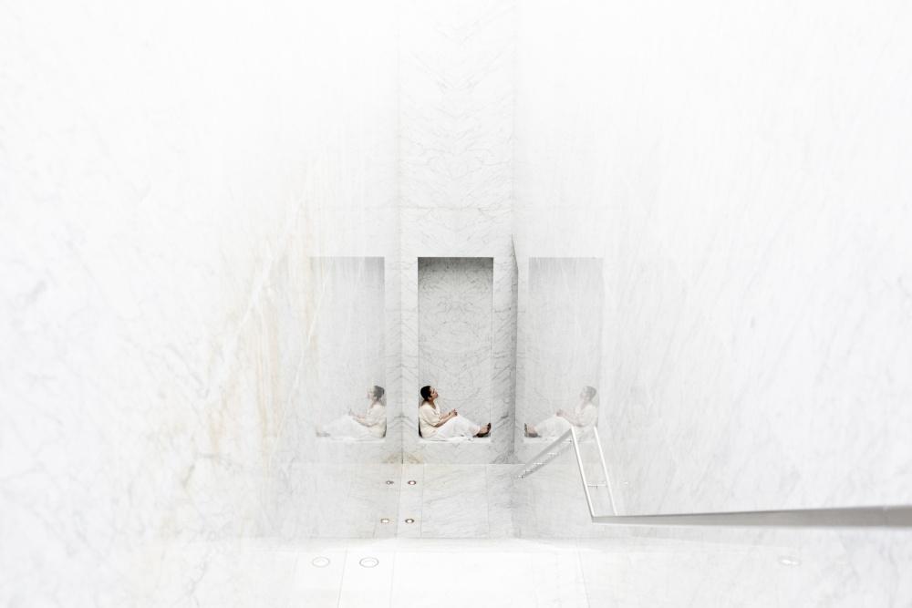 Poster white room