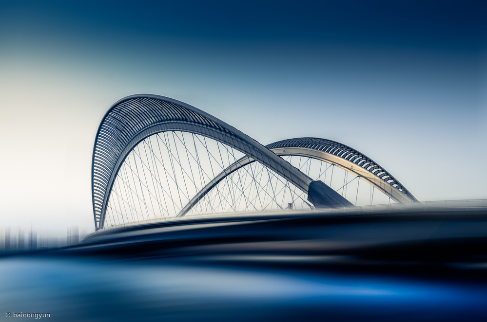 Fotokonst Bridge#1