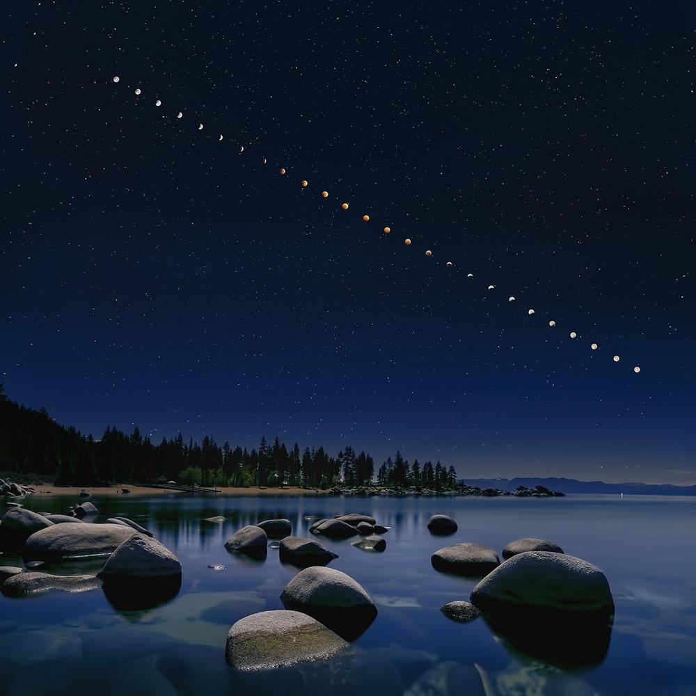 Poster Total Lunar Eclipse