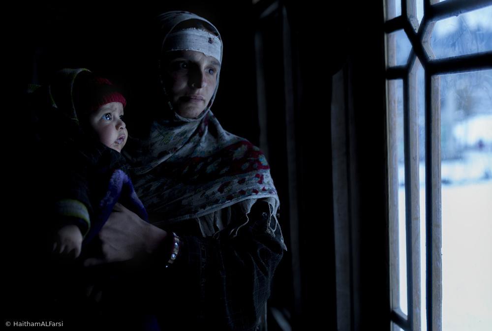 Fotokonst Kashmiri Family