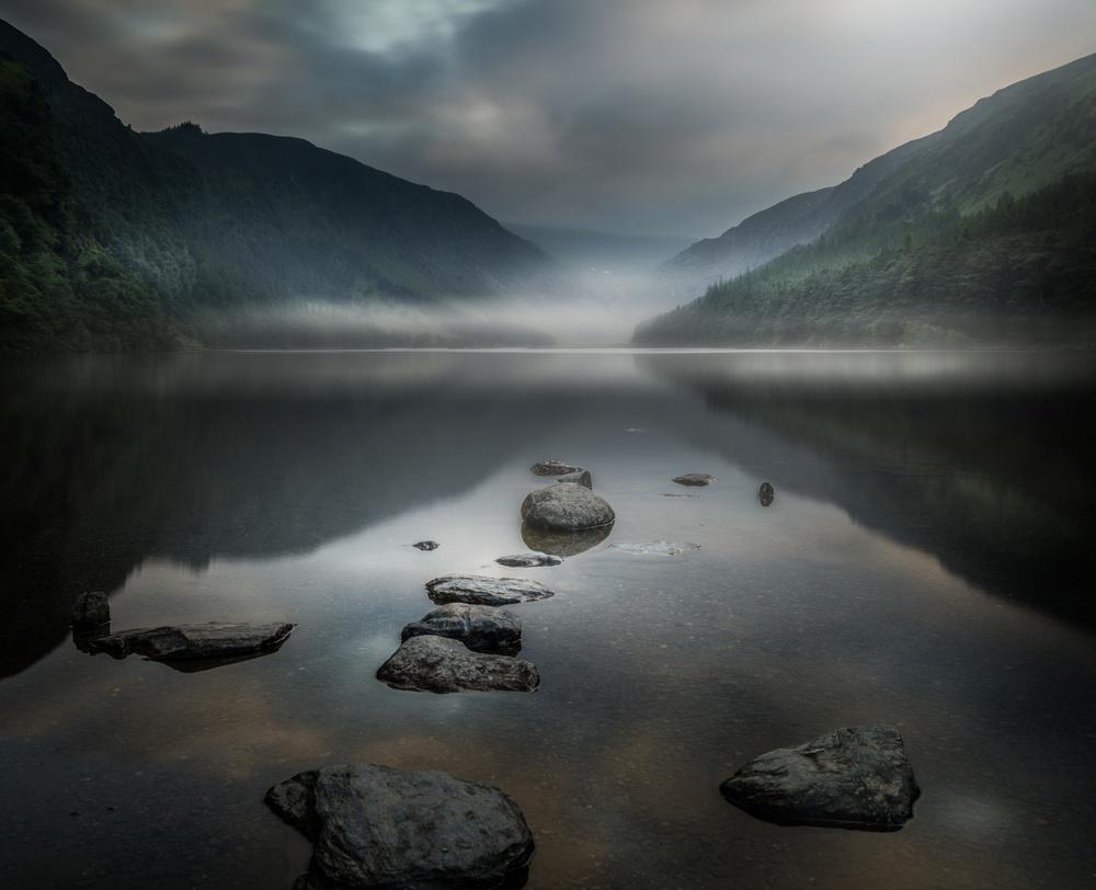Fotokonst silent valley