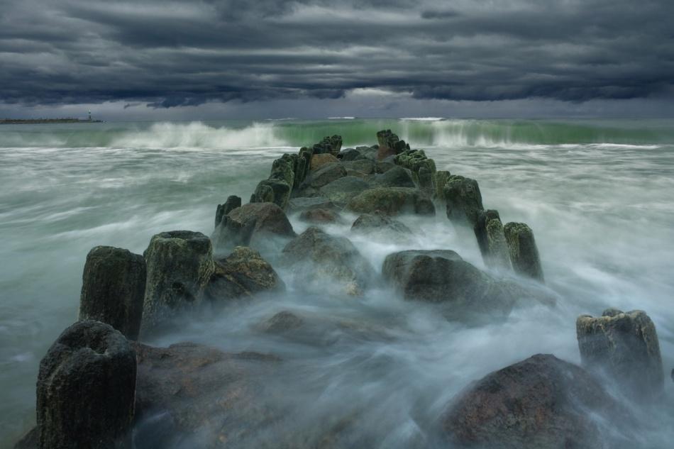 Fotokonst Breakwater