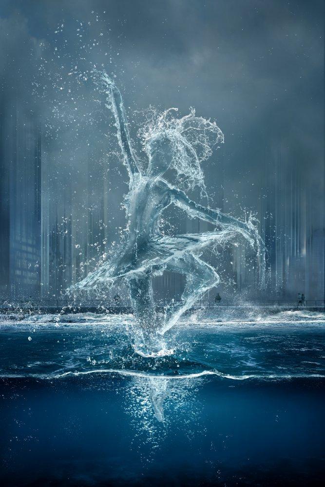 Fotokonst Wasserballett