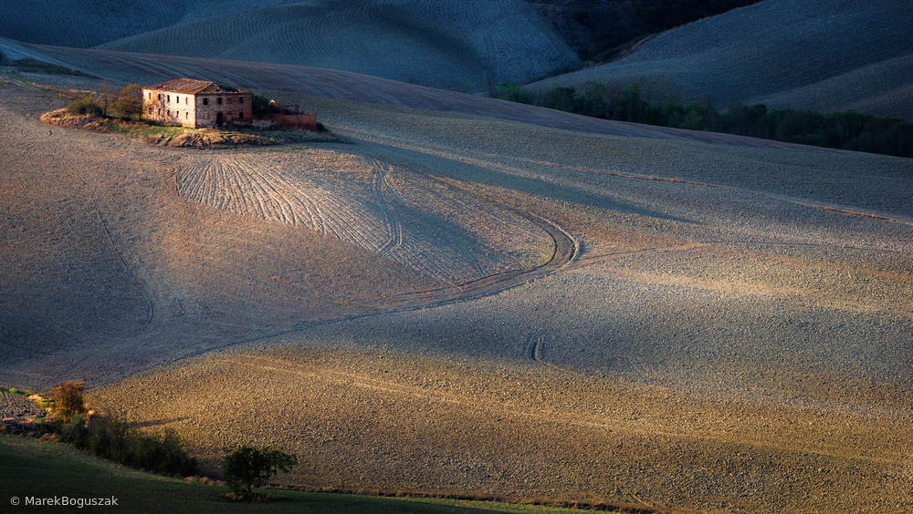 Fotokonst Colors of Tuscany Sunset