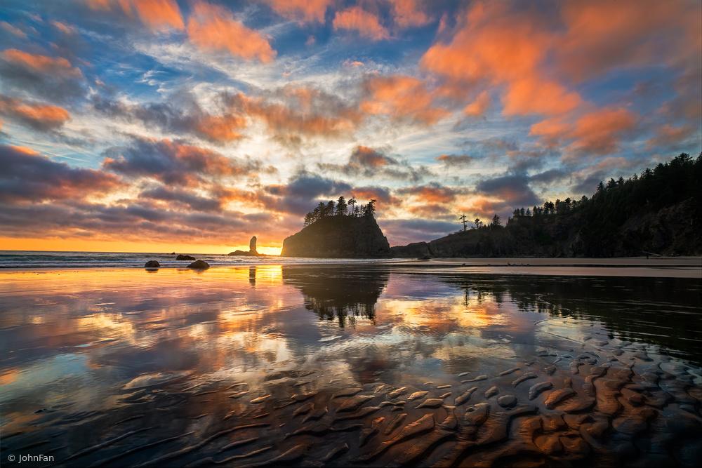 Fotokonst Sunset Symphony