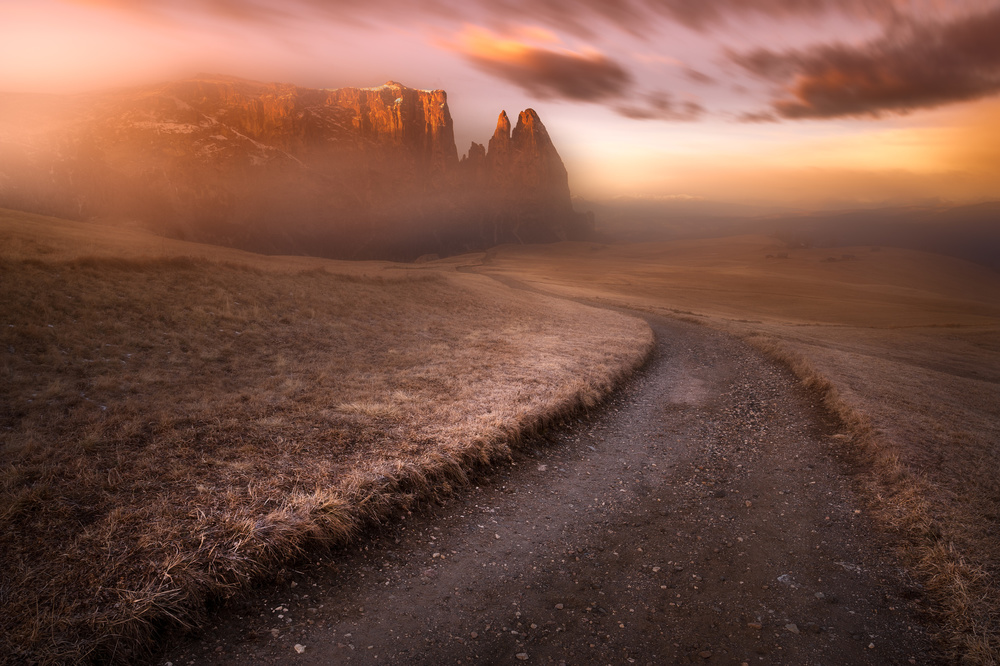 Fotokonst Sciliar Dolomia