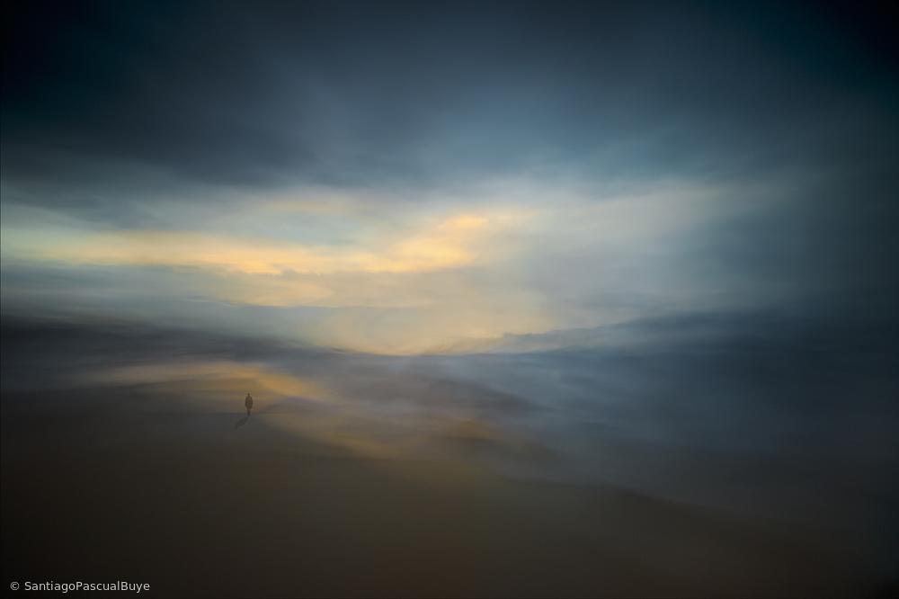 Fotokonst Walk along the edge of Nowhere