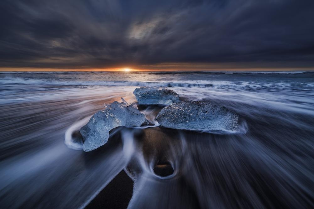Fotokonst Wild Ice II