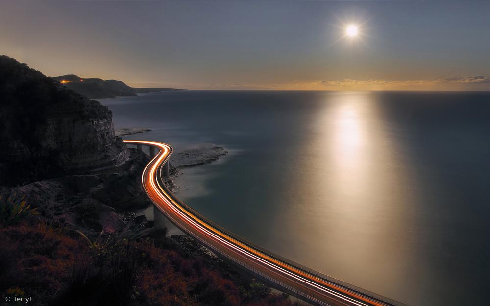 Poster Sea Cliff Bridge