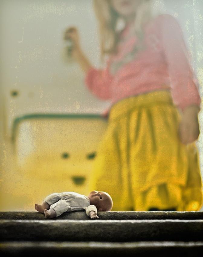 Fotokonst go to sleepy little baby