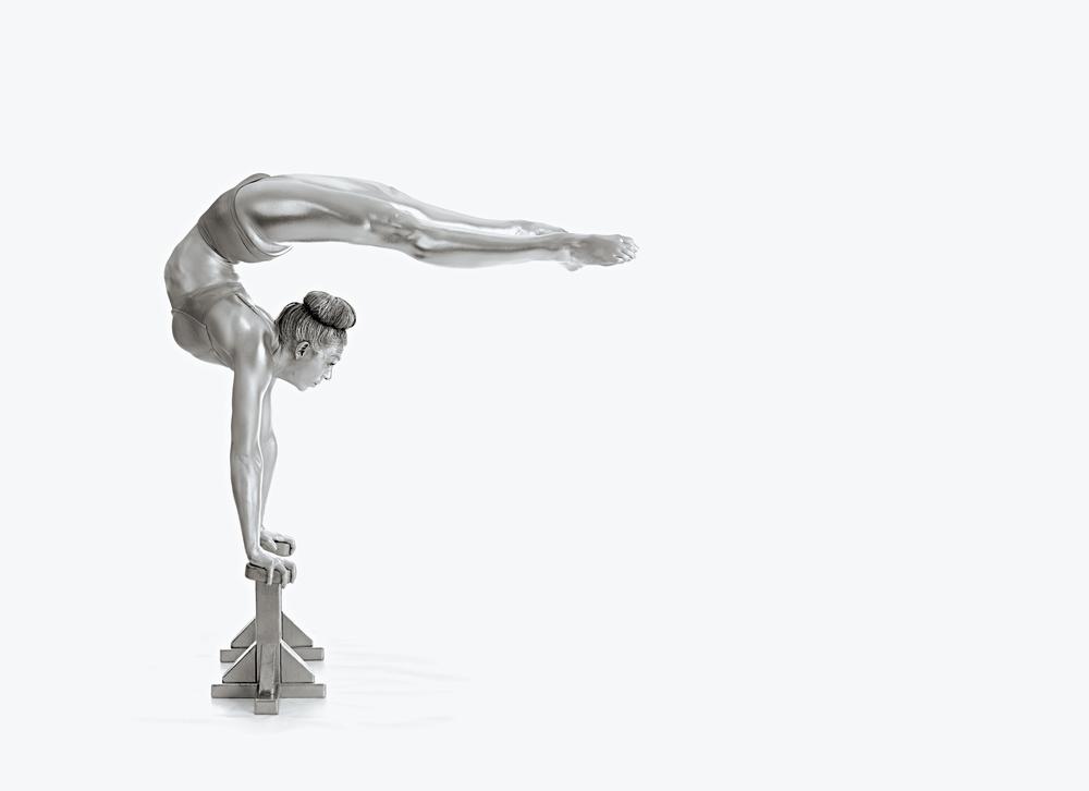 Poster Gymnastics Series - Mexican Balance