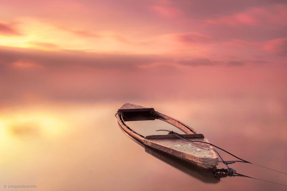 Fotokonst The boat