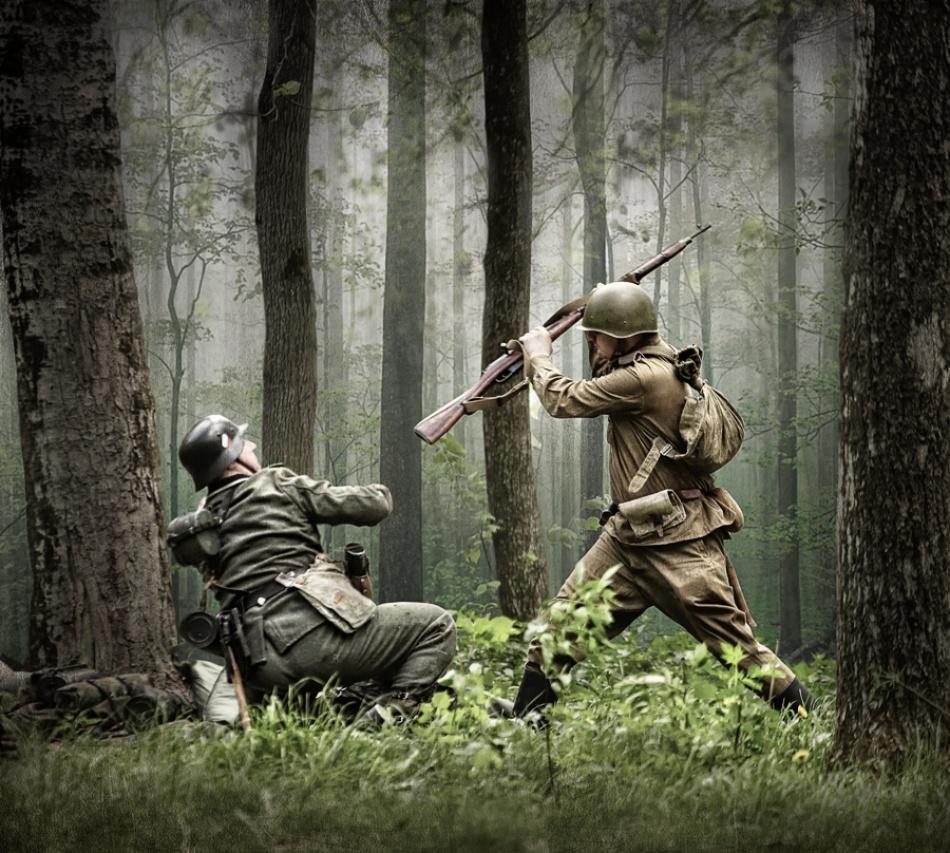 Fotokonst combat