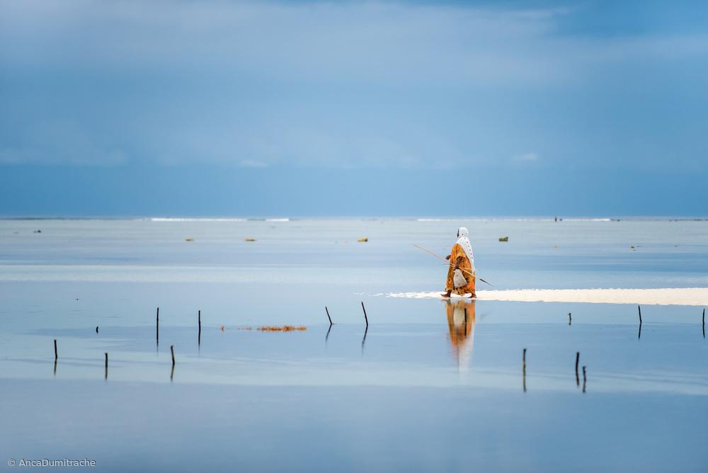Fotokonst Low tide