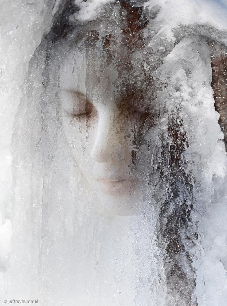 Fotokonst ice queen