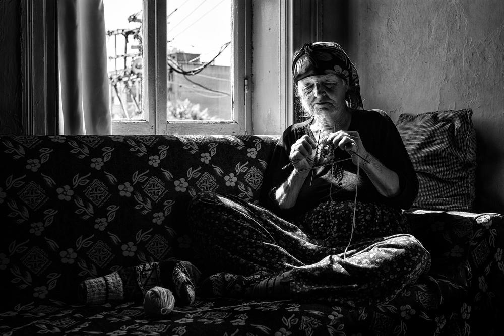Fotokonst Ayşe aunt