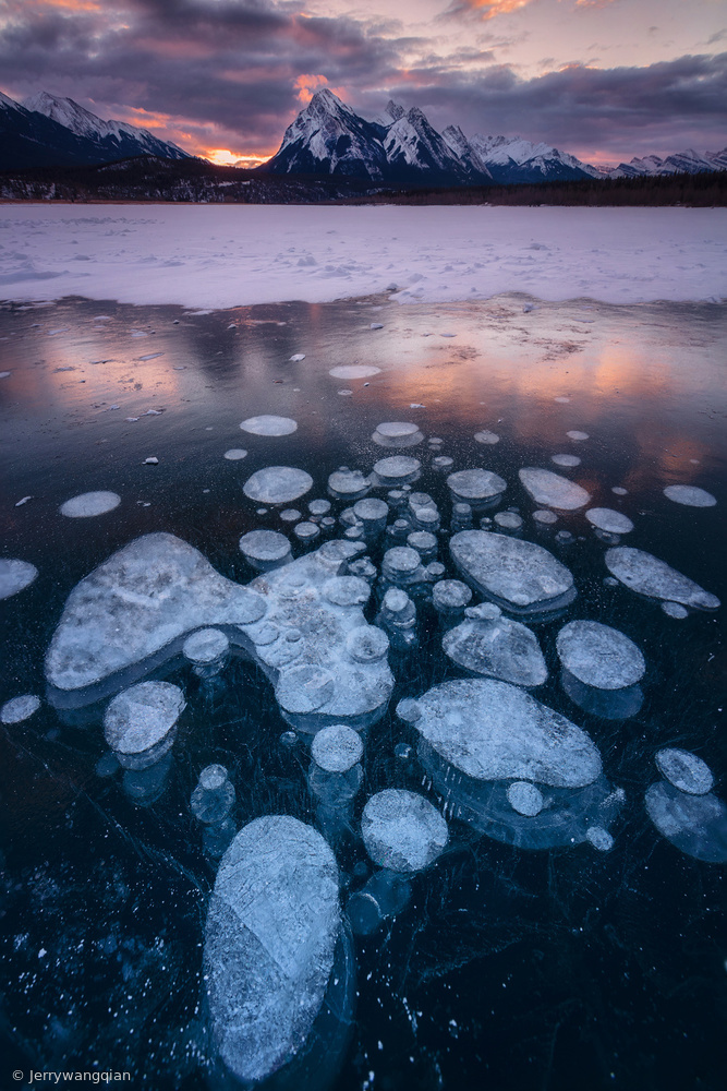 Fotokonst Icy world