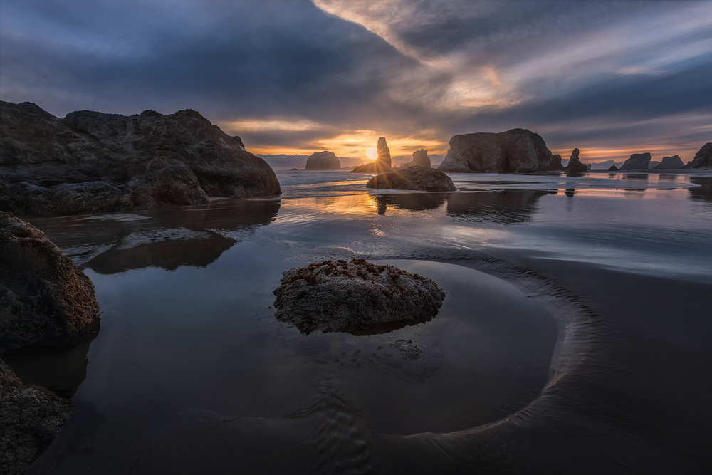 Fotokonst bandon sunset