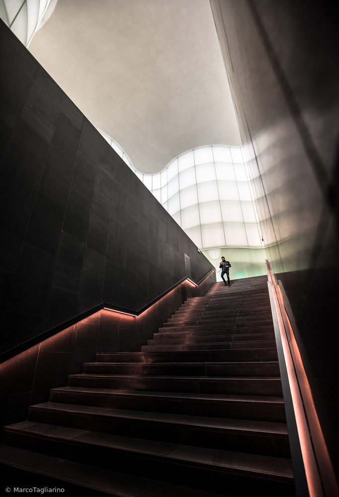 Fotokonst Staircase from Future