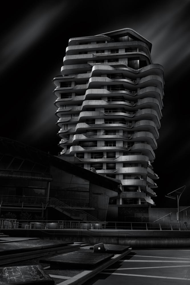 Fotokonst Marco-Polo-Tower