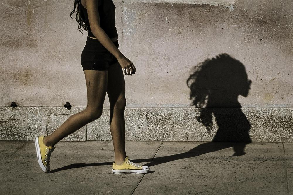 Fotokonst Shadow
