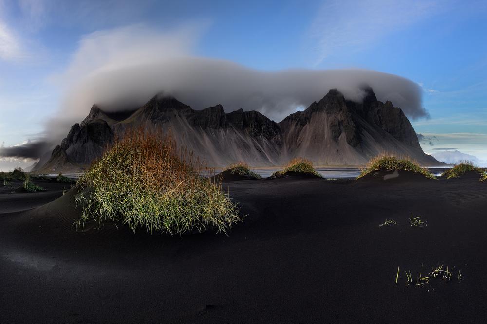 Fotokonst Stokksnes and Vestrahorn - The Vatnajökull region