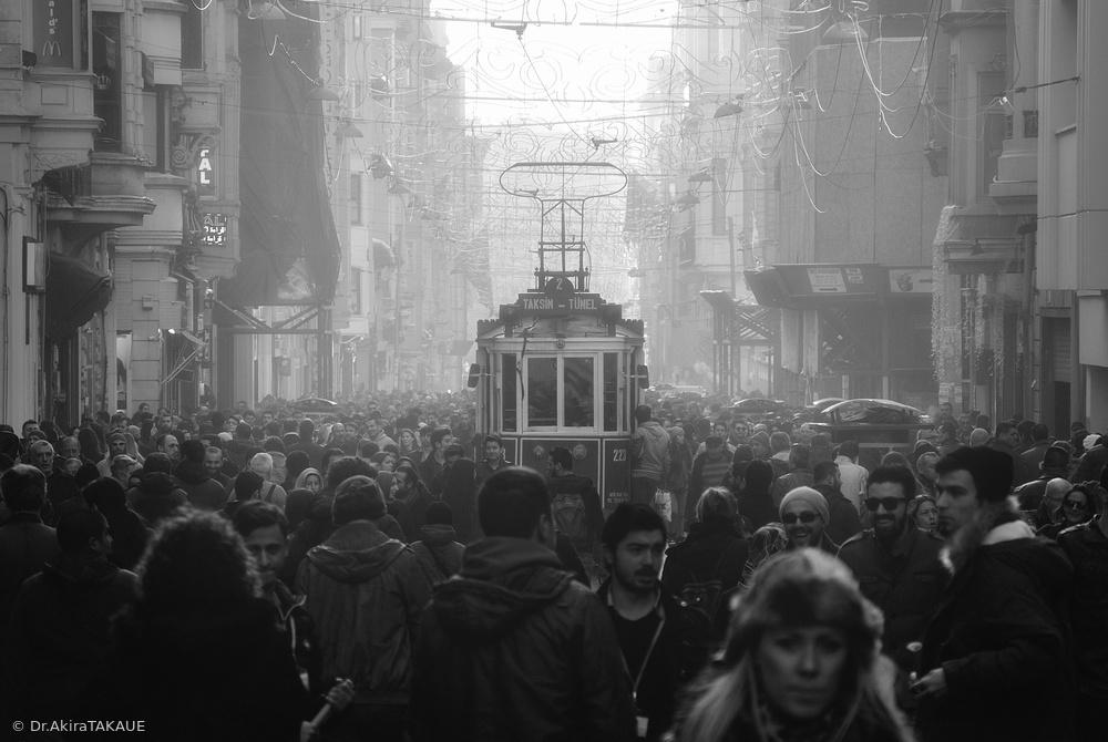 Fotokonst Taxim Street