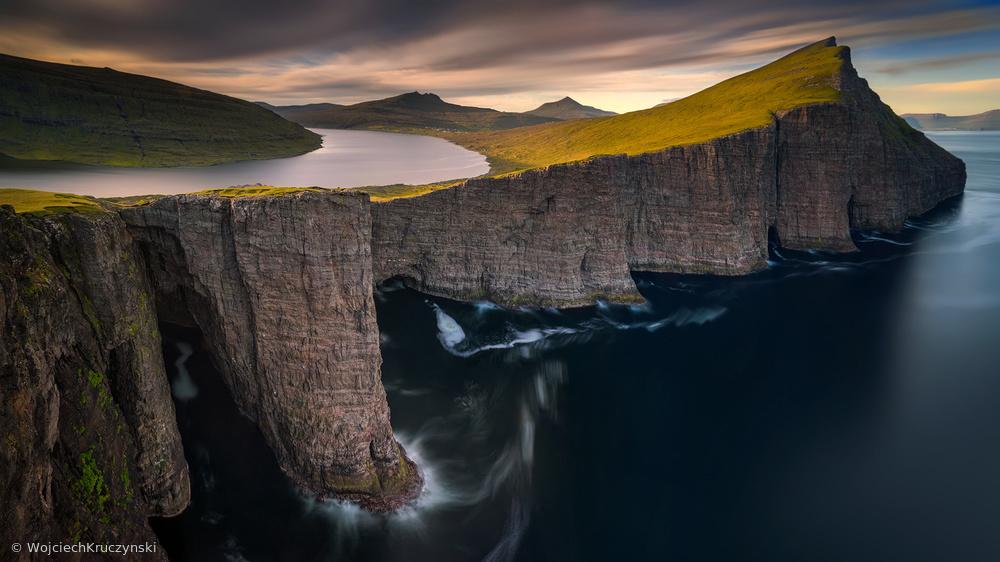 Fotokonst Sorvagsvatn