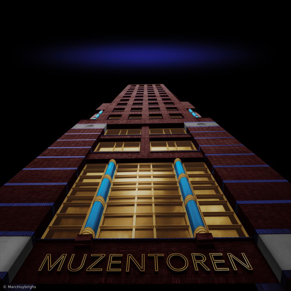 Fotokonst Muzentoren