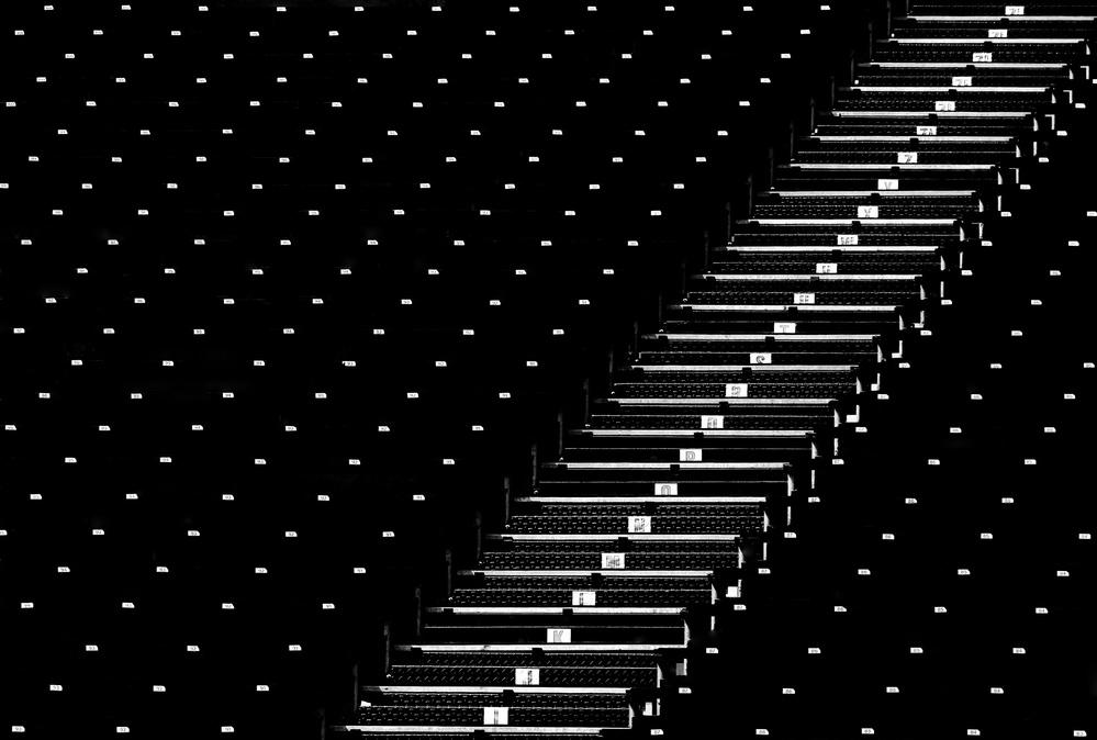 Fotokonst Steps