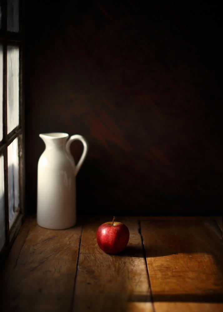 Fotokonst An apple