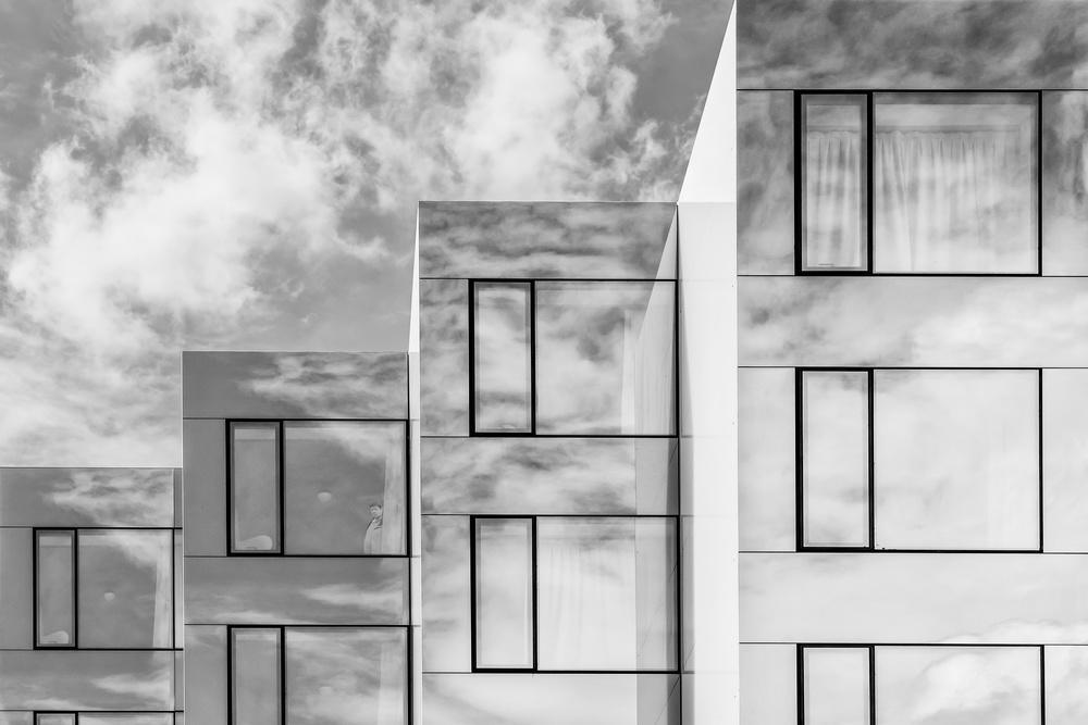 Fotokonst Residence of the clouds