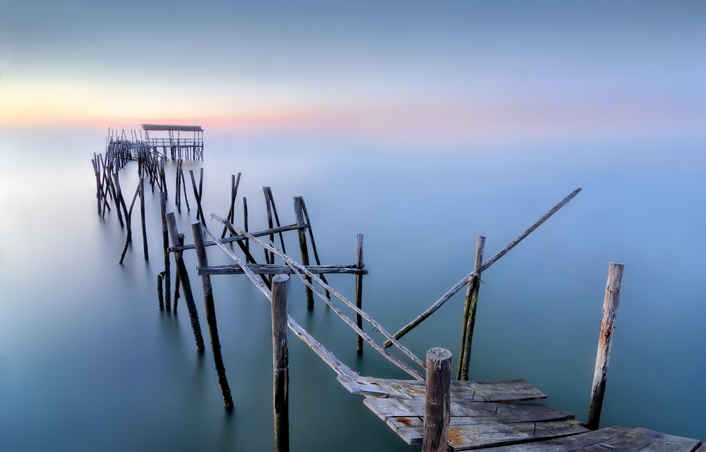 Fotokonst The Old Pier