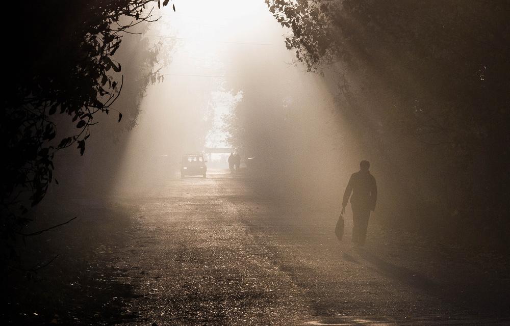Fotokonst the road