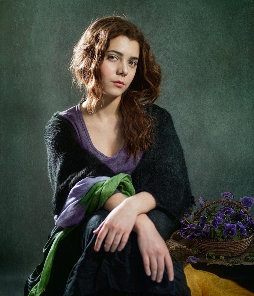 Fotokonst Violets ...