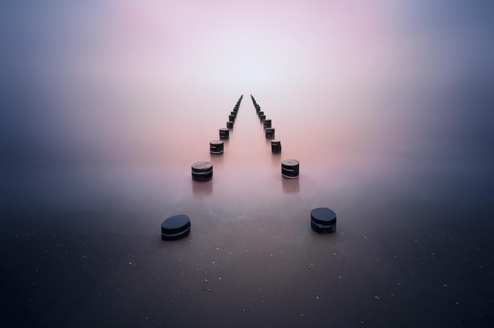 Fotokonst Alone in the silence