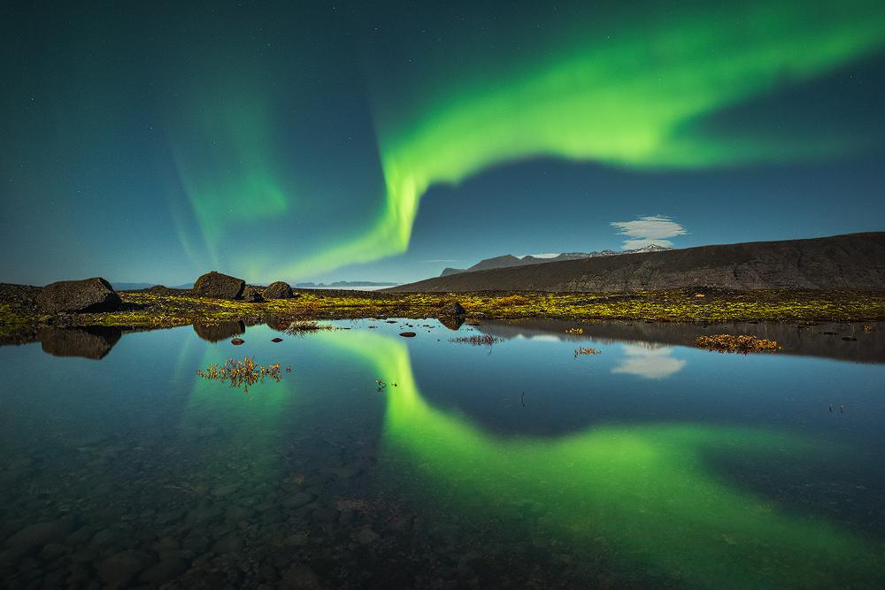 Fotokonst norðurljós