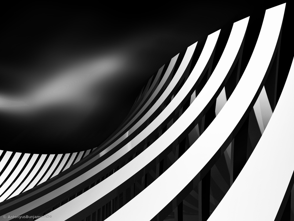 Fotokonst Arch Wave