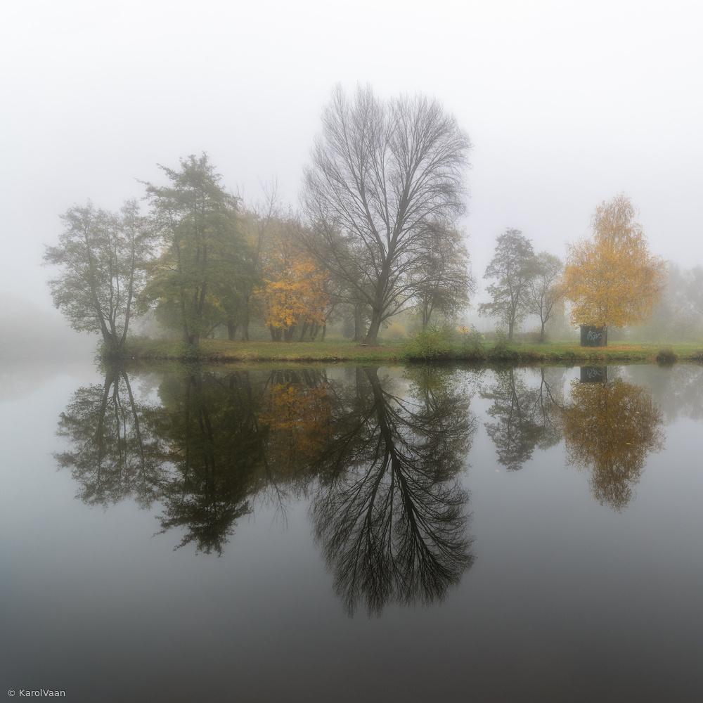 Fotokonst Autumn silence