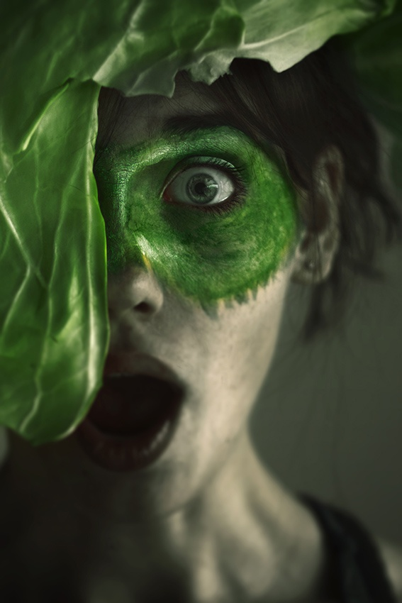 Fotokonst Green