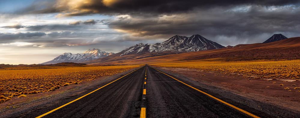 Yellow road