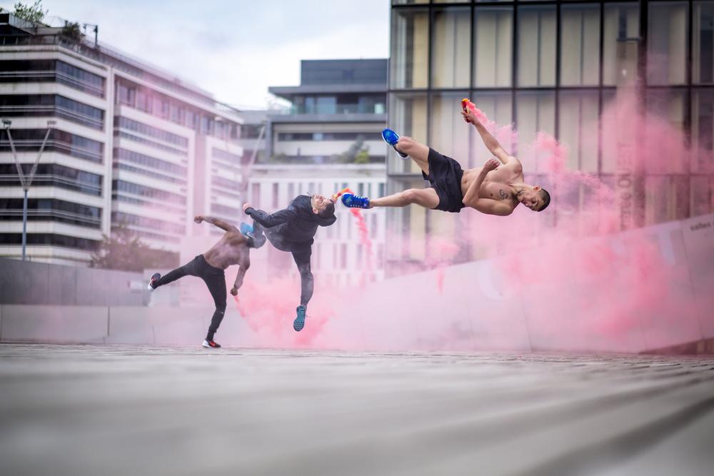 Fotokonst Tricking with Ahmed Chouikhi, Mehdi Ahrad & Kevin Karlton