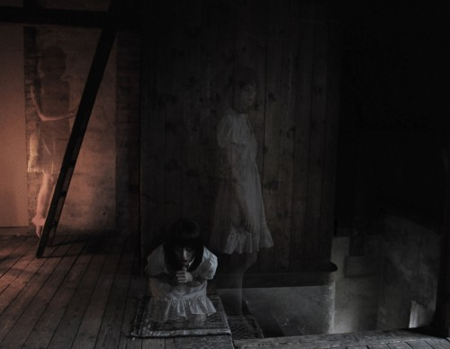 Ghosts in the attic.. by Victoria Hellner