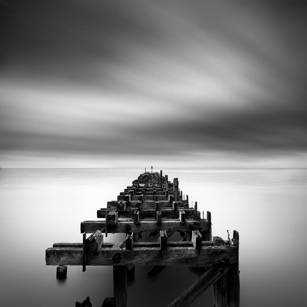 Fotokonst Ruined Pier