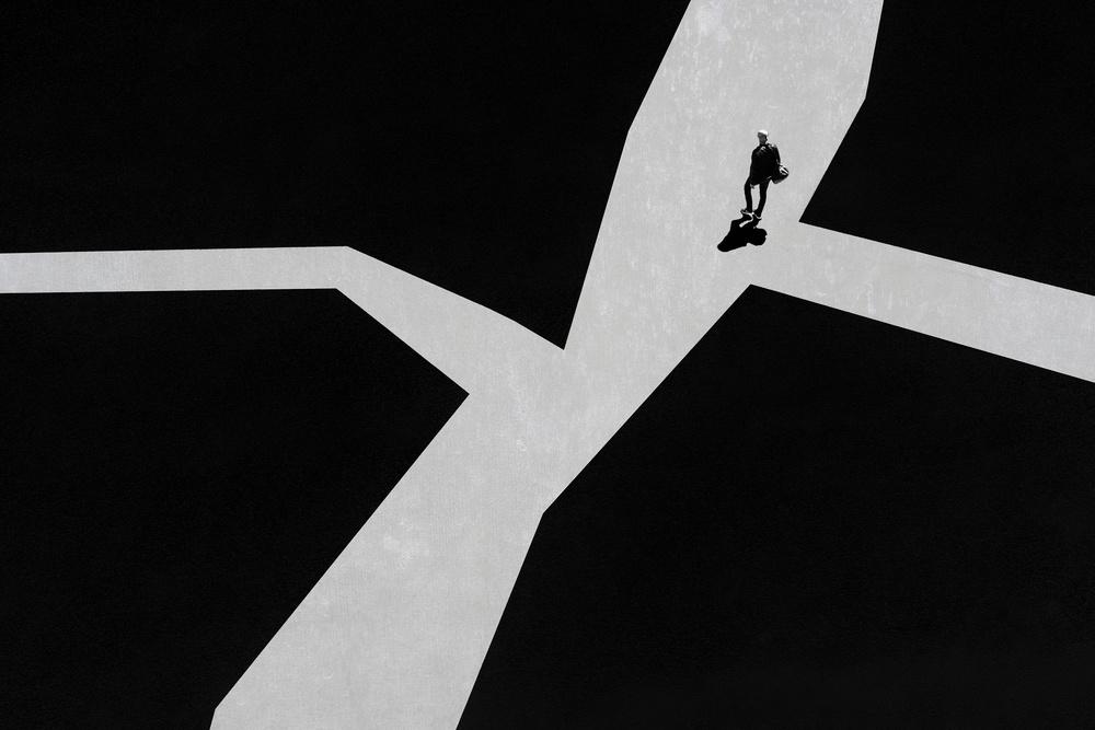 Fotokonst Crossroads